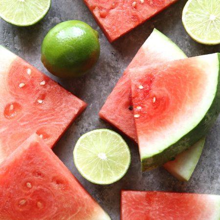 watermelon-lime-granita
